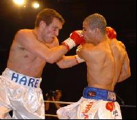thumb David barnes and James Hare go in close2 Boxing Photos: Barnes vs Hare and Undercard