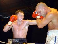 thumb Matthew Hatton attacks Rob burton11 Boxing Photos: Barnes vs Hare and Undercard