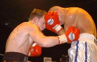 thumb Matthew Hatton lands with a body shot on rob burton12 Boxing Photos: Barnes vs Hare and Undercard