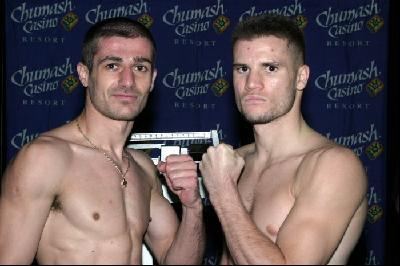 thumb Mike Arnaoutis Jesse Feliciano Calzaghe Salem Plus ShoBox Fights Tonight.