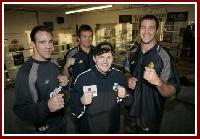 thumb Rugby Hatton1 Boxing Info: Great British Rugby League Stars Lend a Hand to Ricky Hatton