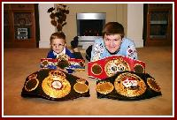 thumb rickyhattoncampbell Merry Christmas from Ricky Hatton and Son Campbell