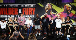 Wilder v Fury Undercard